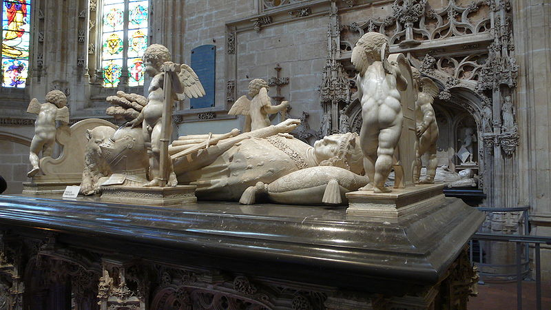 800px-Eglise_de_Brou7_Philibert_II_de_Savoie