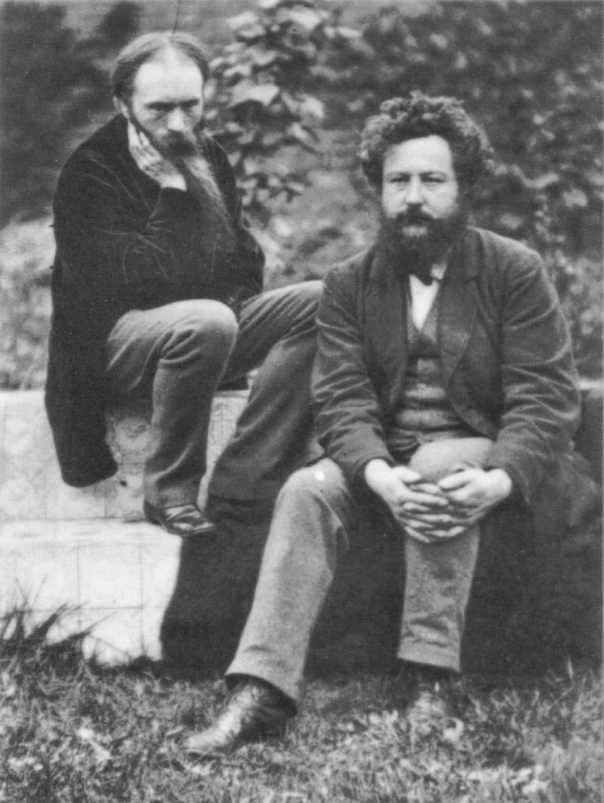 Frederick_Hollyer_Edward_Burne-Jones_and_William_Morris_1874