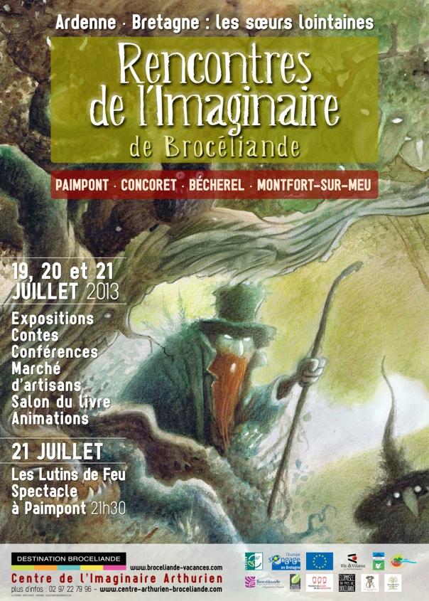 Affiche 9ÈMES RENCONTRES DE L'IMAGINAIRE.WEB